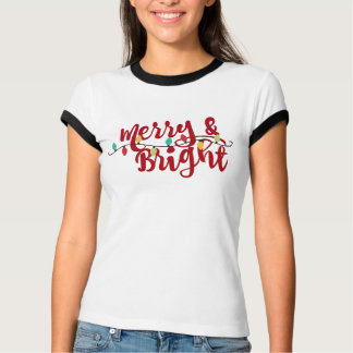 メリーおよび明るいです Tシャツ