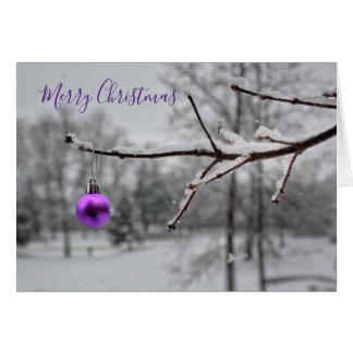 メリーで小さいクリスマス(カード) カード