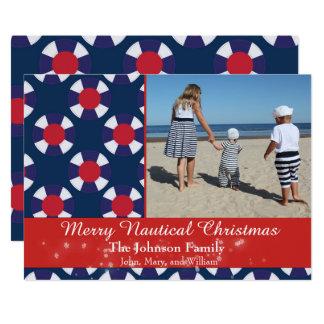 メリーで航海のなクリスマス カード