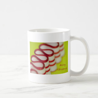 メリーなキリストのペパーミントのリボンキャンデー コーヒーマグカップ
