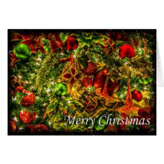 メリーなクリスマスオーナメント カード