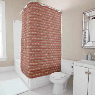 メリーなクリスマスオーナメント シャワーカーテン