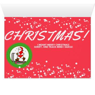 メリーなフィットネス! クリスマスカード カード