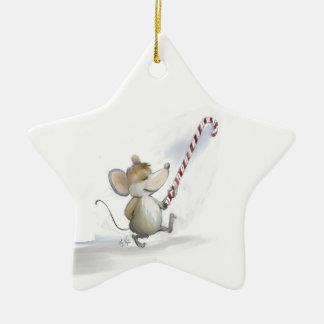 メリーなマウスのMoeの星のオーナメント セラミックオーナメント
