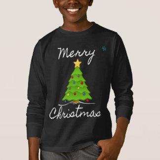 メリーなメリークリスマスの木 Tシャツ