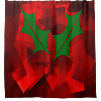 メリーなユール(キリスト降誕祭)…. シャワーカーテン