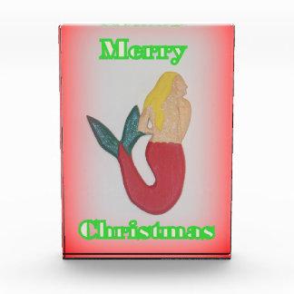 メリーな人魚のクリスマス賞 表彰盾