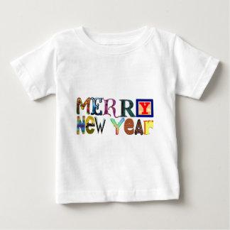 メリーな新年 ベビーTシャツ