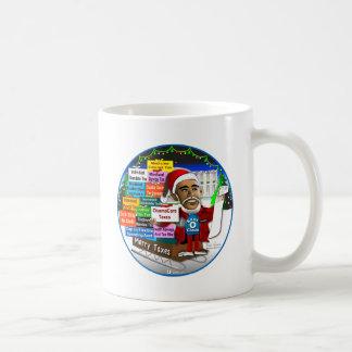 メリーな税 コーヒーマグカップ