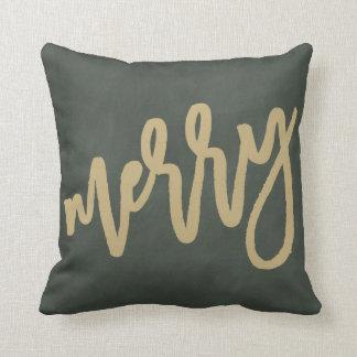 メリーな金原稿 の装飾の枕 クッション