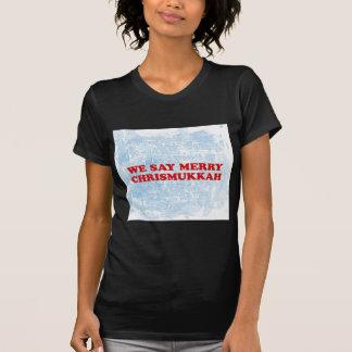 メリーなchrismukkah tシャツ
