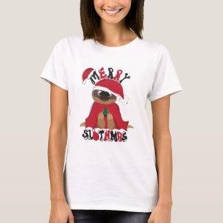 メリーなSlothmas Tシャツ