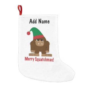 メリーなSquatchmas! スモールクリスマスストッキング