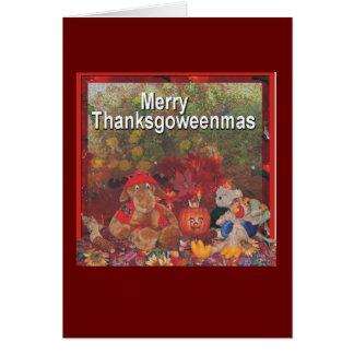 メリーなthanksgoweenmas カード
