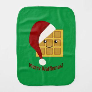 メリーなWafflemasのクリスマスのワッフル バープクロス