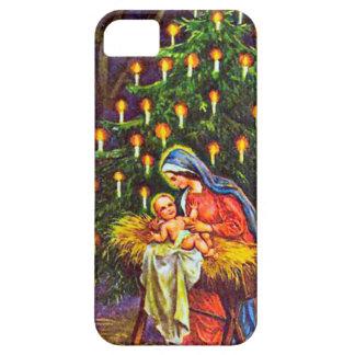 メリーのベビーイエス・キリストのクリスマスツリー iPhone SE/5/5s ケース