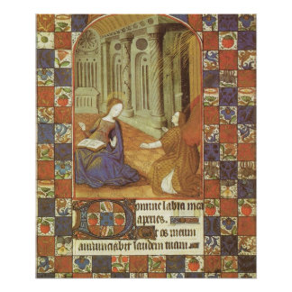 メリーは中世彼女のいとこエリザベスを訪問します ポスター