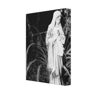 メリーオリジナルの写真撮影の神聖なハート キャンバスプリント