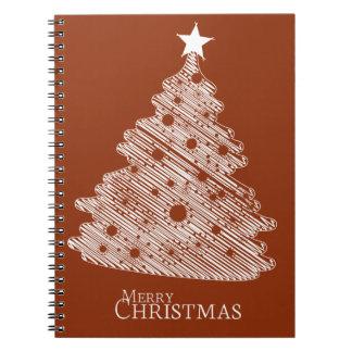 メリークリスマスおよび幸せなnewyear ノートブック