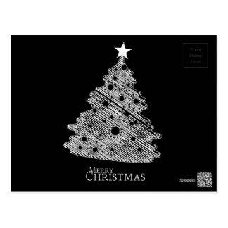 メリークリスマスおよび幸せなnewyear ポストカード