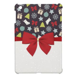 メリークリスマスおよび幸せなnewyear iPad miniカバー