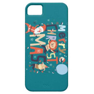 メリークリスマスおよび幸せなnewyear iPhone SE/5/5s ケース