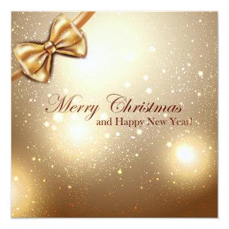 メリークリスマスおよび明けましておめでとうの郵便はがき#4 カード
