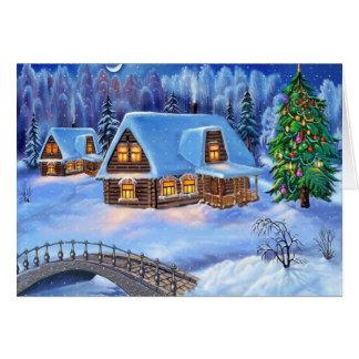 メリークリスマスおよび明けましておめでとう カード