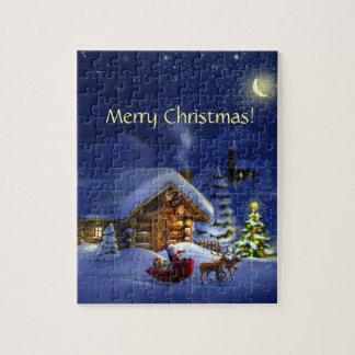 メリークリスマスおよび明けましておめでとう! ジグソーパズル
