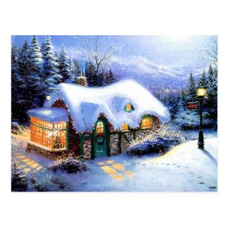 メリークリスマスおよび明けましておめでとう ポストカード