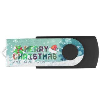 メリークリスマスおよび明けましておめでとう|抜け目がないドライブ USBフラッシュドライブ