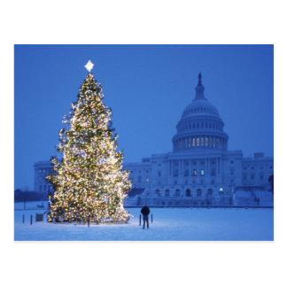メリークリスマスおよび明けましておめでとう 葉書き