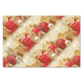 メリークリスマスおよび明けましておめでとう 薄葉紙