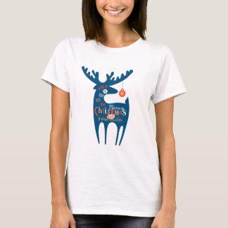メリークリスマスおよび明けましておめでとう Tシャツ