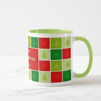 メリークリスマスのカスタマイズ可能なマグ マグカップ