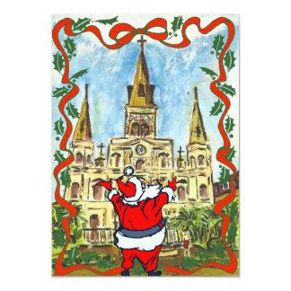 メリークリスマスのカテドラルサンタ カード