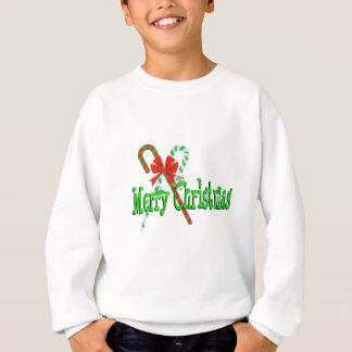 メリークリスマスのキャンディ・ケーン スウェットシャツ