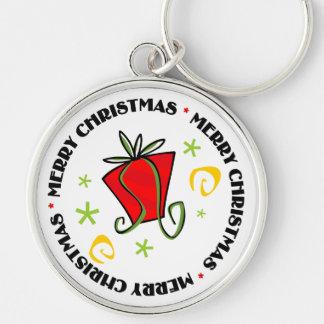 メリークリスマスのギフト交換 キーホルダー