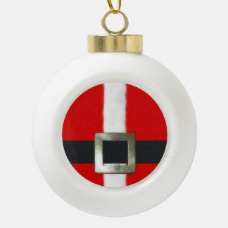 メリークリスマスのサンタのスーツ セラミックボールオーナメント