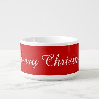 メリークリスマスのジャンボコップ チリボウル