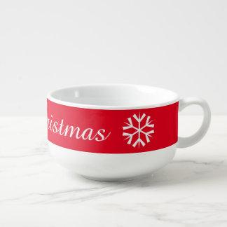 メリークリスマスのジャンボマグ スープマグ