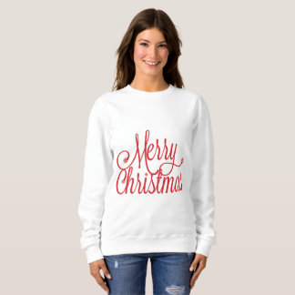 メリークリスマスのスエットシャツ スウェットシャツ