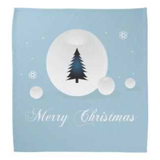 メリークリスマスのデザイン バンダナ