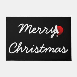 メリークリスマスのドア・マット ドアマット