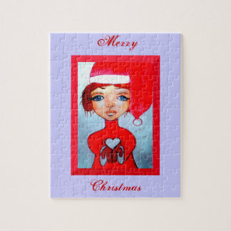 メリークリスマスのパズル ジグソーパズル