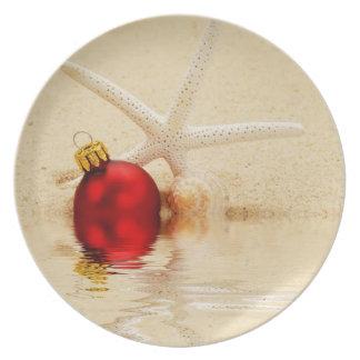 メリークリスマスのヒトデ プレート