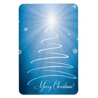 メリークリスマスのファンキーなクリスマスツリー マグネット