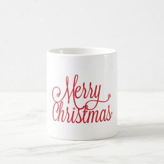メリークリスマスのマグ コーヒーマグカップ