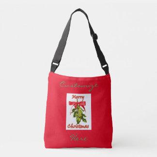 メリークリスマスのヤドリギ クロスボディバッグ