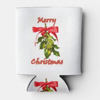 メリークリスマスのヤドリギ 缶クーラー